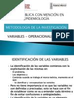UNFV Operacionalizacion de Variables