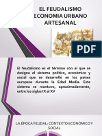 EL FEUDALISMO ECONOMIA URBANO ARTESANAL.pptx