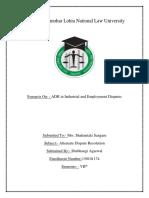 ADR Synopsis.docx