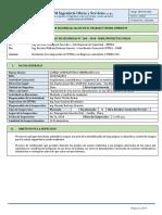 Informe SSTMA 268 M&M Proyectos (Inspección - Flechado de Conductor - C. MEJIA SAC) 08.11.18