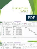 MS PROJECT 2016 Clase 4 Prte2