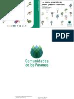 Las Plantas Maderables de Paramo y Sus Usos