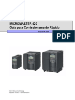 Micromaster01 Comissionamento Rápido MM420 [Port]