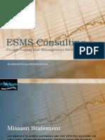 ESMS Plan Presentation