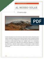 Visita Al Morro Solar