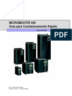 Micromaster02 Comissionamento Rápido MM440 [Port]