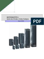 Micromaster04 Entradas e Saídas Analógicas [Port]