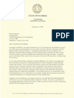 Attorney General Pam Bondi sends letter to FDLE to investigate voter fraud claims