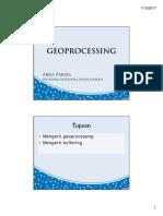 12 Geoprocessing