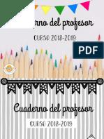 Cuaderno Del Profesor Español Completo Protegido