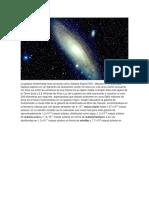 La Galaxia Andrómeda Más Conocida Como Galaxia Espiral M31