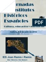IV Jornadas de Institutos Históricos