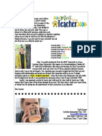 meet the teacher letter pdf