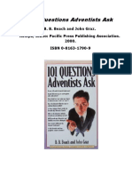 101 Questions Adventists Ask