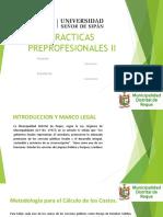 Practicas Preprofesionales informe