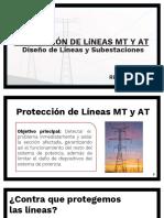 6- Protección de Lineas MT y At