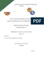 informe de manometria y presion estatica