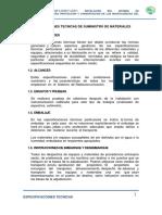 Especificaciones técnicas de un sistema de radiocomunicación