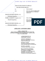 BARNETT KEYES v OBAMA (APPEAL - 9th CIRCUIT) - 26 - Submitted (ECF) Answering brief for review. - TransportRoom.26.0
