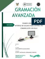 Programacion Avanzada Interfaz de Control PID