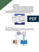 Maquinado Por Electrodescarga