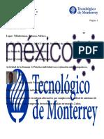 Practica Del Curso Mercados de Carbono Una Forma de Mitigar El Cambio Climático Tecnológico de Monterrey