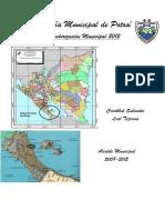 Caracterización Municipal Potosí 2012