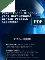 Persiapan pemeriksaan diagnostik