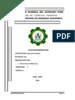 Evapotranspiracion Agrometeorologia