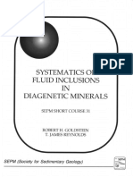 Systematics of fluid inclusions in diagenetic minerals