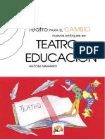 Teatro Para El Cambio en La Educacion