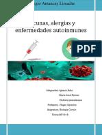 Vacunas, Alergias y Enfermedades Autoinmunes Terminado