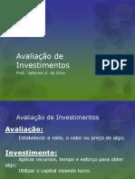 6 Avaliaodeinvestimentos 111009184238 Phpapp01