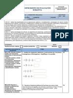 Evaluacion Cuarto Parcial Sexto Matematica