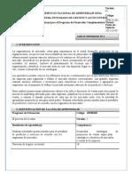 Guía de Aprendizaje 2 Portafolio de Servicios Solucion