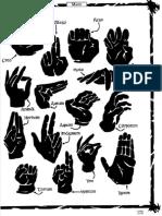 Ars Magica Hand Gestures