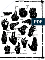 Ars Magica Hand Gestures