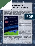 Asteroides, cometas, meteoritos