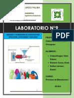 Lab.9 Fundicion y Moldeo de Plasticos
