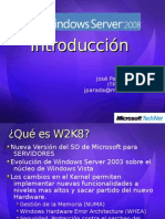 Introduccion a Windows Server 2008