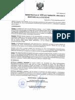 Requerimiento de Pago a Quispillacta - Autoridad del Agua