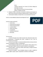Cite as Fases Do Psicodiagnóstico