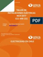 IE Clase 02a - I. El Ctricas TNS 2018-10 - Electricidad en Chile