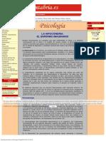 Psicologia La Hipocondria El Enfermo Imaginario
