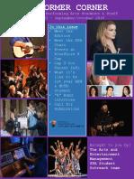 School of Performing Arts_Performer Corner_Issue 1-SeptOct 2018