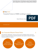 Towards Future of SME Lending in Japan
