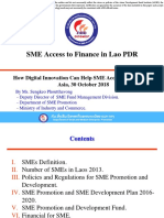 SME Access to Finance in Lao PDR