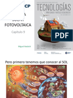 ENERGIA SOLAR FOTOVOLTAICA Cálculos Arquitectura 14 Setiembre 2017