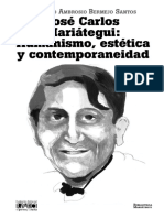 Jose Carlos Mariategui Humanismo Estetica y Contemporaneidad