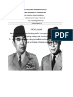 Kami Bangsa Indonesia Dengan Ini Menjatakan Kemerdekaan Indonesia